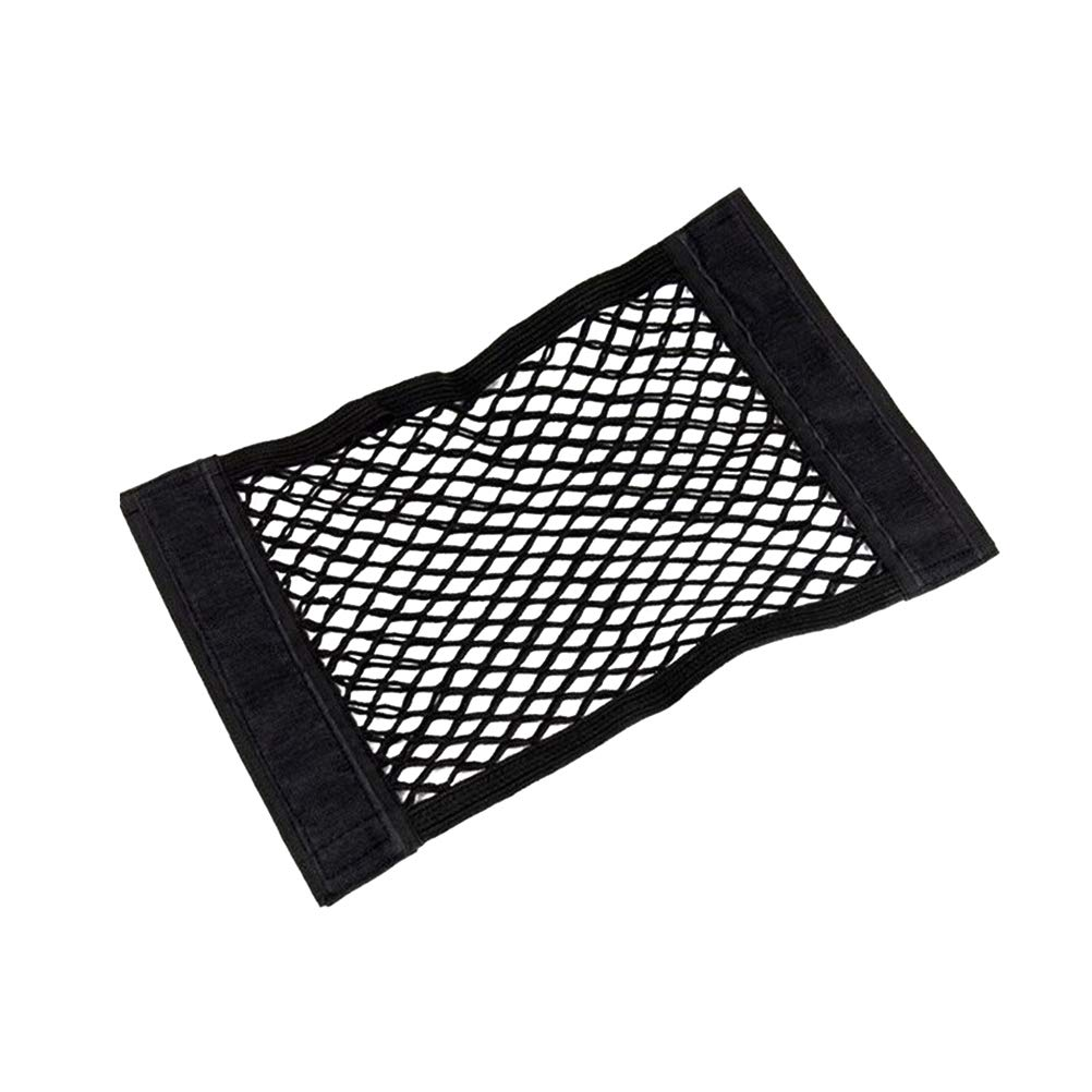 LIOOBO Super Duty Bungee Cargo Net Stretches Mesh Holds Small and Large Loads Tighter Black