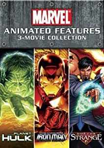 Marvel Animated Features 3-Movie Collection [DVD]