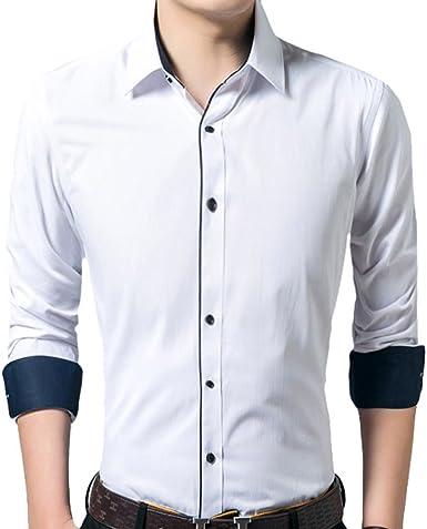 Scothen Camisa para Hombre Slim Fit Plancha fácil, súper Moderno Hombres súper Calidad Manga Larga Camisa Stock Seleccionar Planchado fácil Florida a Cuadros Camisa de Manga: Amazon.es: Ropa y accesorios