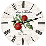 Personalized Apple Kitchen Clock Review
