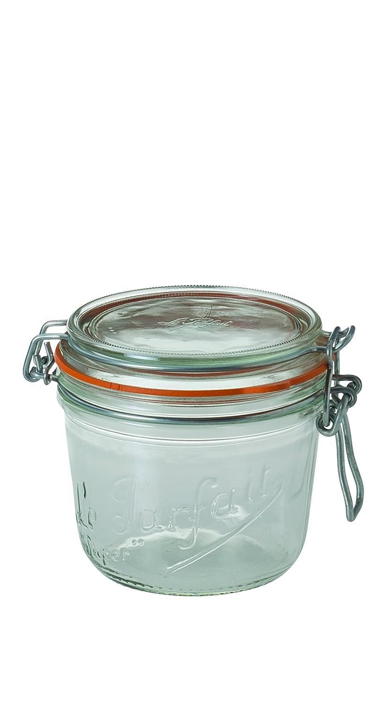 Le Parfait 8012572.0 - Juego de 3 tarros (35,0 x 10,5 x 10,7 cm), Cristal Transparente ARTMADIS