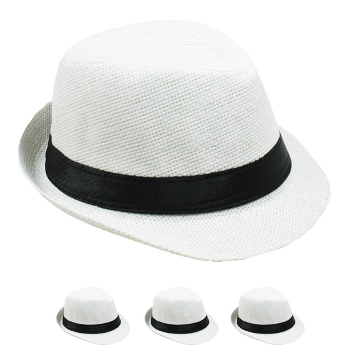 Lafashionist kids boy girls straw fedora hat summer trilby hats white  clothing jpg 1200x1200 Royal blue 49e0c0ef52e7
