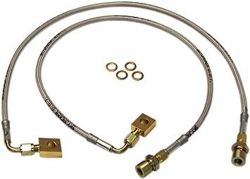 Blue Hose /& Stainless Banjos Pro Braking PBC0986-BLU-SIL Braided Clutch Line