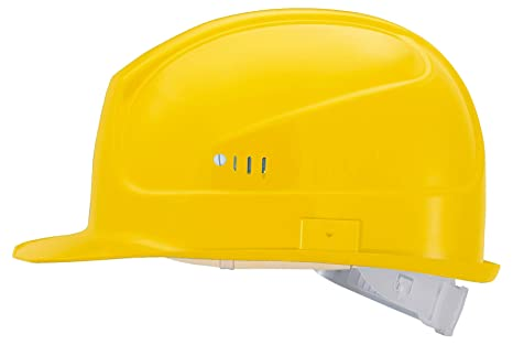 Uvex 9750 Superboss Casco de seguridad con ventilación - Casco de Protección Para Obra EN 397