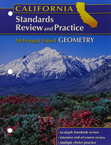 Holt McDougal Larson Geometry: Standards Review and Practice (Student) Geometry