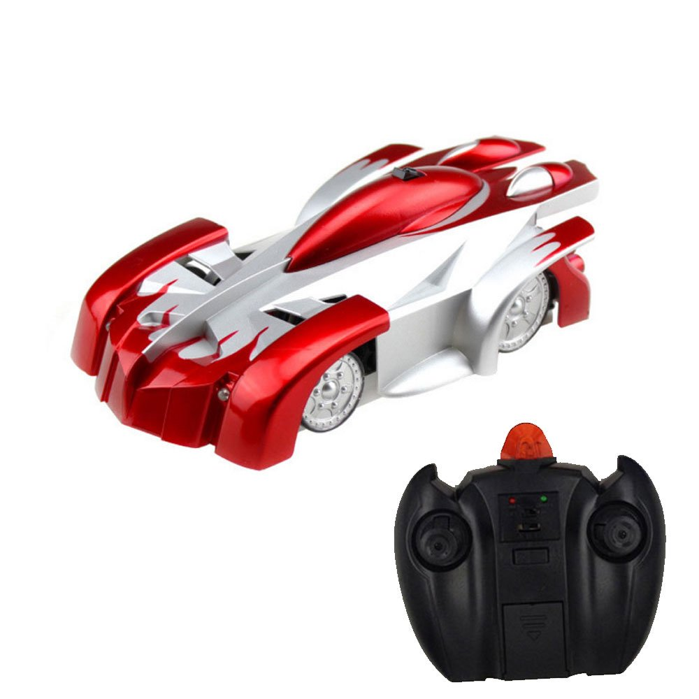 buy bestofferbuy 4ch remote control spiderman wall climbing climber stunt toy car red online at low prices in india amazonin
