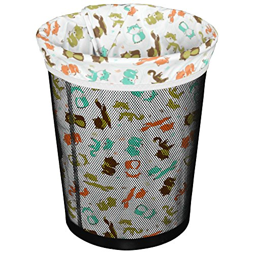 Fox Wastebasket (Planet Wise Reusable Trash Diaper Bag, Fox Trot)