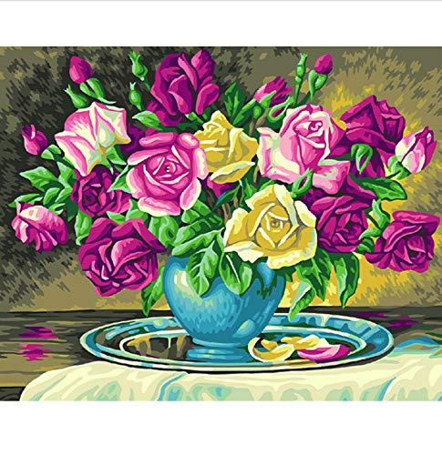 (Jigsaw Puzzle 1000 Piece Still Life Peony DIY Unique for Home Wall Art Classic Puzzle 3D Puzzle Wooden Toy Gift)