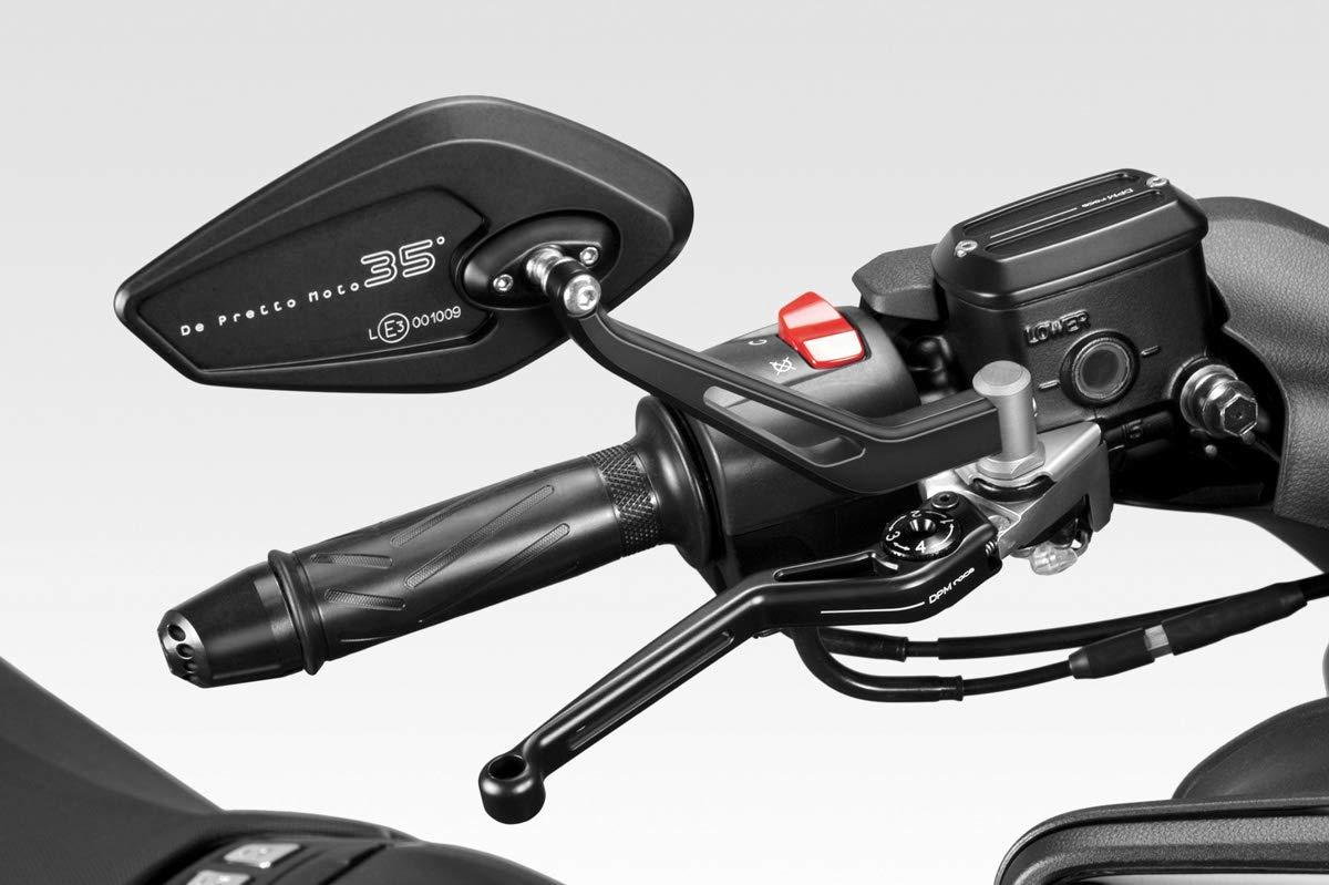 Retrovisores Laterales Manillar TMAX 2017//19 Aluminio R-0838 DPM Race Accesorios De Pretto Moto - Homologados Kit Espejos Revenge CL - 100/% Made in Italy