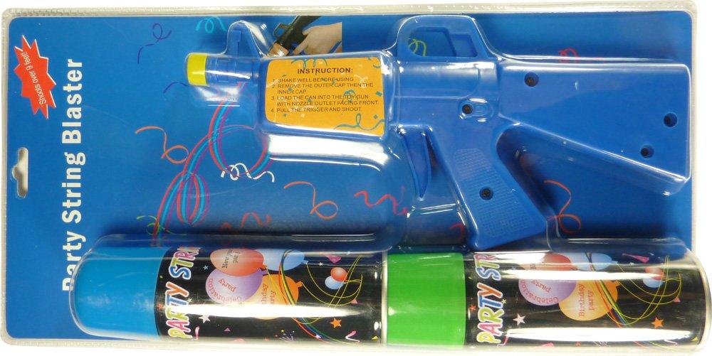 Silly Crazy String Gun - Party String Blaster Gun (12 Pack)