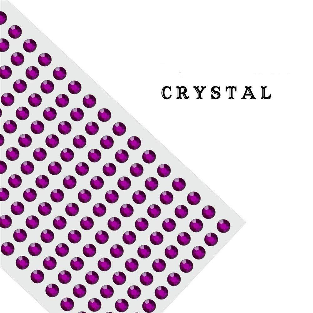 "10 yards Solid Grosgrain 2/"" Wide Ribbon//Polyester//Craft//Wedding GR20-09 Purple"