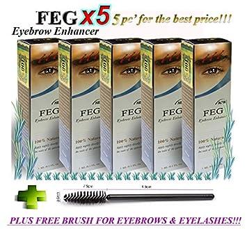 47f746778a1 5 X FEG Eyebrow Enhancer Growth Liquid/Serum. 100% Original with Anti-