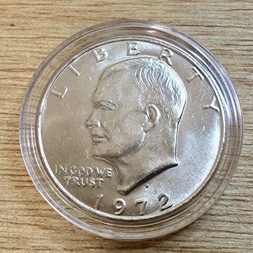 Genuine ~UNC 1972-D Eisenhower Dollar (X213)