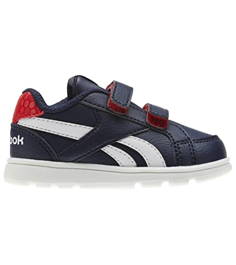 Reebok Royal Prime ALT, Zapatillas de Deporte Unisex para Niños, Azul (Navy/Primal Red/White 000), 22.5 EU: Amazon.es: Zapatos y complementos