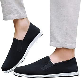 Zapatos de Lona para Hombre EUZeo Rebajas,Casuales Mocasines de Hombre Tallas Grandes Classic Zapatos de Deporte Business Basica Formales Zapatos Divertidas Shoes for Men 2019: Amazon.es: Ropa y accesorios