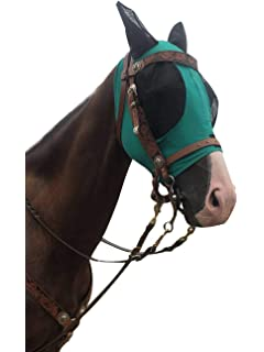 Buses Fly Mask Fly Cover Pro-Pink//Black