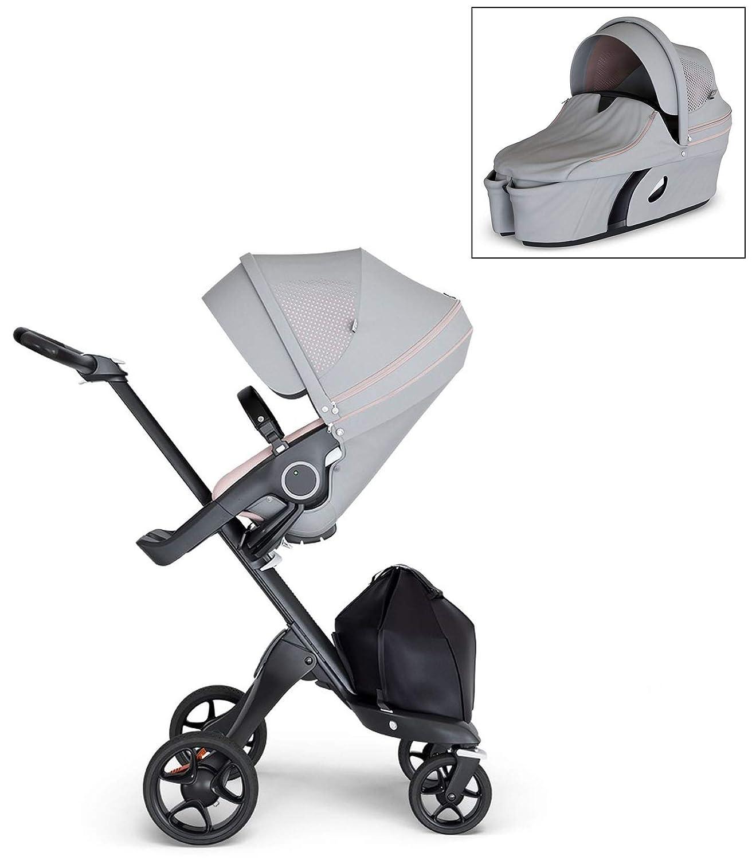 Amazon Com Stokke Xplory V6 Athleisure Pink Stroller With Black