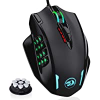 Redragon RGB LED Wired Gaming Mouse, 18 Programmable Mouse Buttons