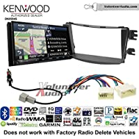 Volunteer Audio Kenwood Excelon DNX994S Double Din Radio Install Kit with GPS Navigation Apple CarPlay Android Auto Fits 2012-2013 Hyundai Accent