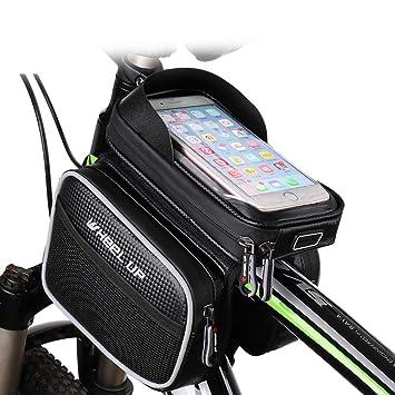 Lumiere Bolsa de Cuadro de Bicicleta Bolsa Impermeable para ...