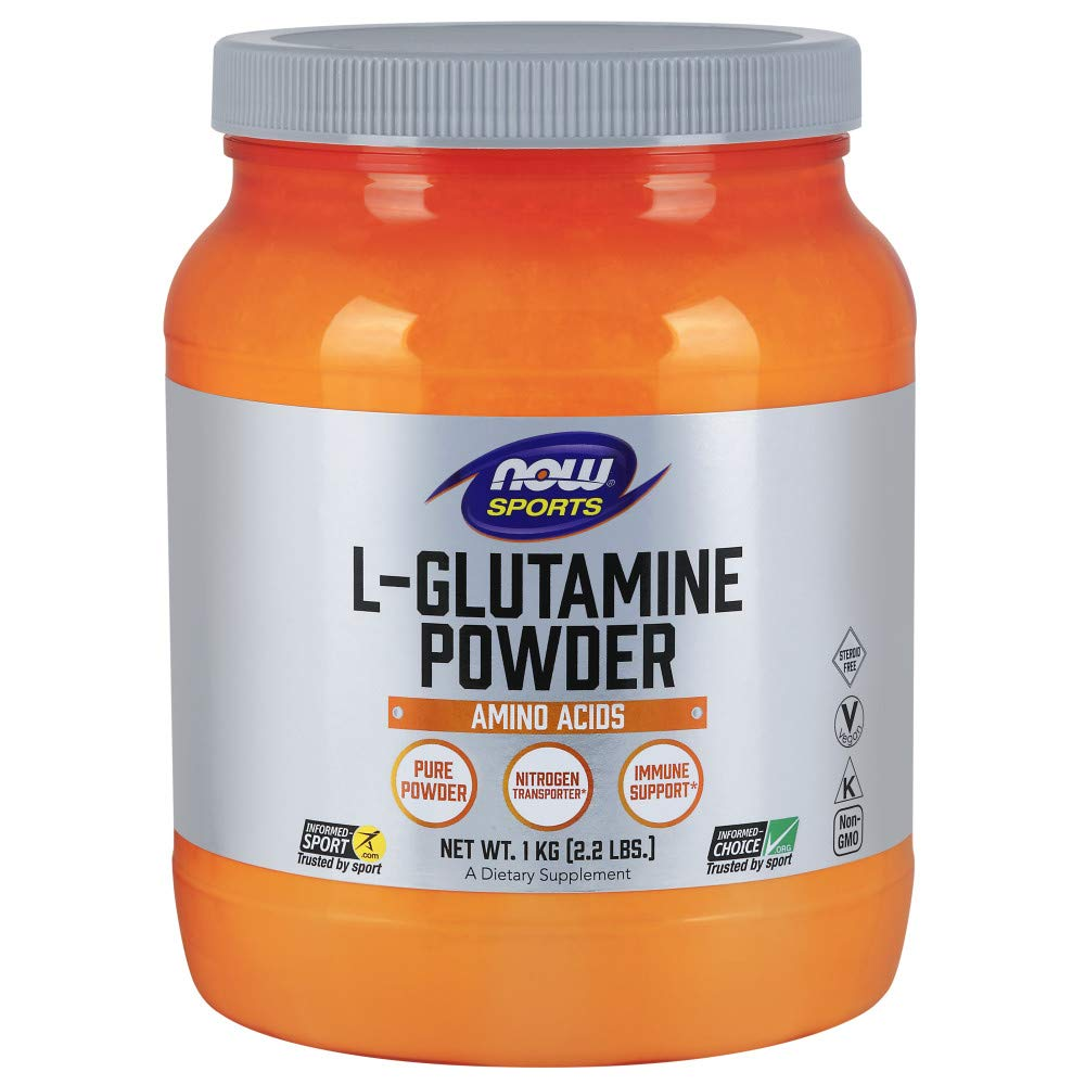 Now Sports, L-Glutamine Powder, 35.3-Ounce