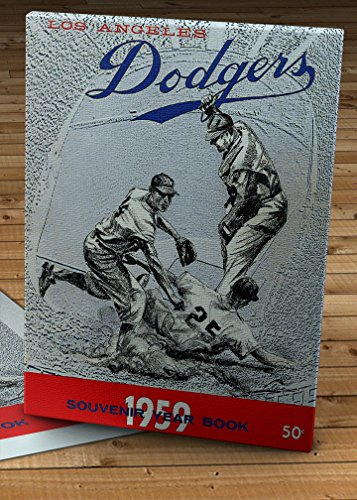 1959 Vintage Los Angeles Dodgers Yearbook - Canvas Gallery Wrap - 11 x 14