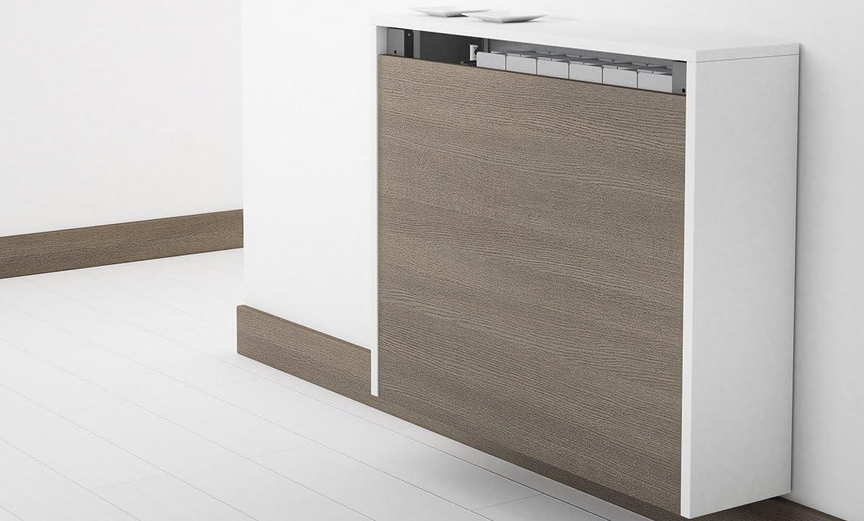 CANCIO Mesa Block Plegable, Plegable a Pared Cubierta radiador ...