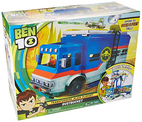 Ben 10 Vehicles - Ben 10 Rustbucket Deluxe Vehicle Transforming Playset