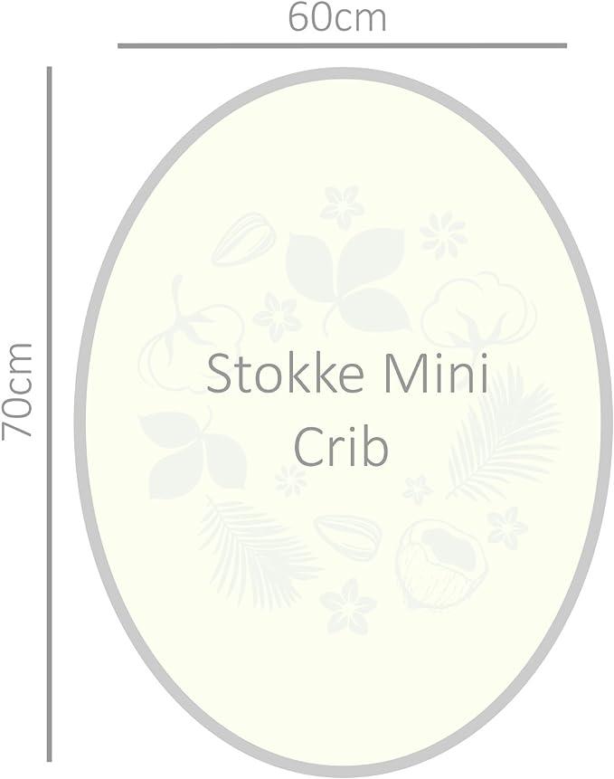 /A Lovely dise/ño ergon/ómico. 2/x rosa s/ábana bajera para colch/ón Stokke Sleepi Mini/ /PREMIUM CALIDAD 100/% algod/ón/