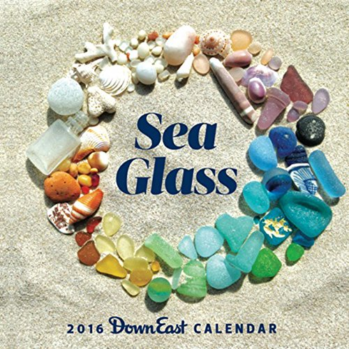 2016 Sea Glass Down East Wall Calendar