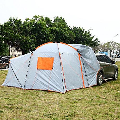 Hosmat Suv Tailgate Tent 6 8 Person Suv Tent Portable