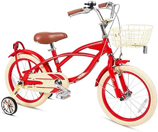 M-YN Bicicleta Niños con Ruedines Los niños niños de la Bici de la ...