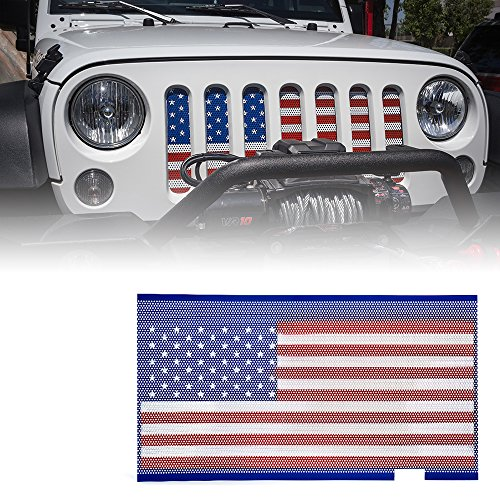 jeep wrangler grill cover - 3