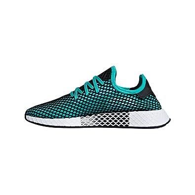 meet eb823 44fc3 adidas, Uomo, Deerupt Runner, Tessuto Tecnico, Sneakers, Verde, 402