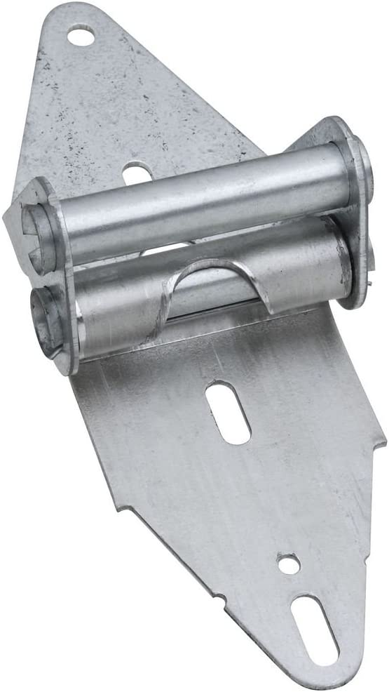 National Hardware N280-214 V7611 Hinge #4 in Galvanized