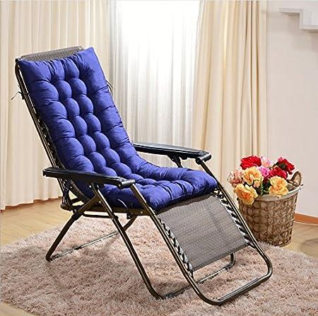 Cuscini per Sdraio, Worsendy cuscini per sdraio da giardino, Cuscini per poltrone, comodo cuscino imbottito sdraio e lettini prendisole (Rosa) 1
