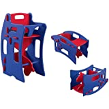 Tri-Chair Toddler Baby Booster Chair, Table Rocking & Play Desk 3 in 1