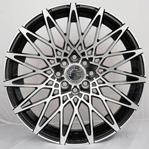 (Aodhan Wheels LS-001: 19X9.5, 5X114.3, 73.1, 15, (Matte Black Machined Face))