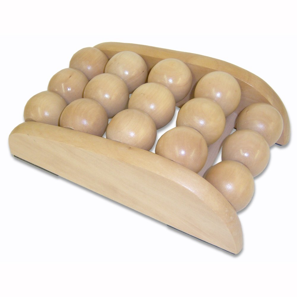 how to use wooden foot massager