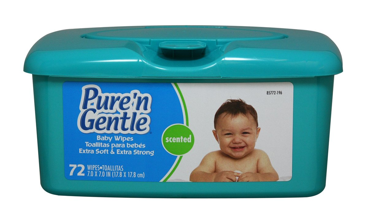 Amazon.com: Pure n Gentle Baby Wipes, Pop-up Dispensing, Scented, 576 Count: Health & Personal Care