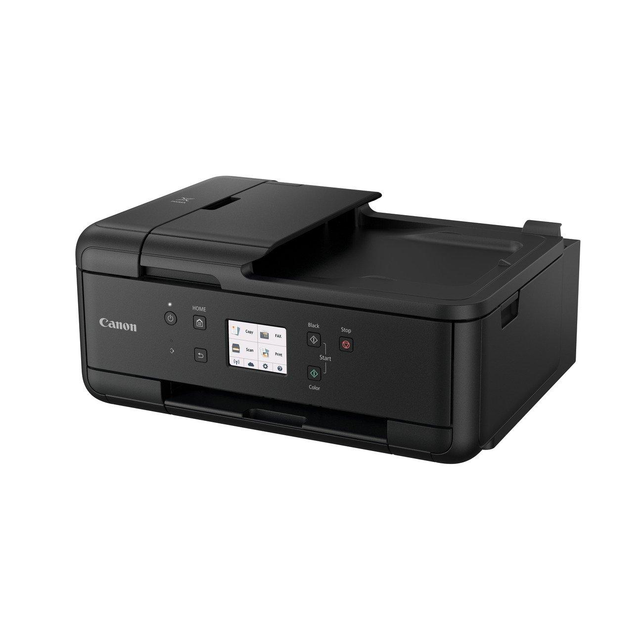 Impresora Multifuncional Canon PIXMA TR7550 Negra Wifi de inyección de tinta con Fax y ADF