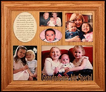 Amazon.com - GRANDPARENTS ARE SPECIAL ~ Photo & Poetry COLLAGE Frame ...