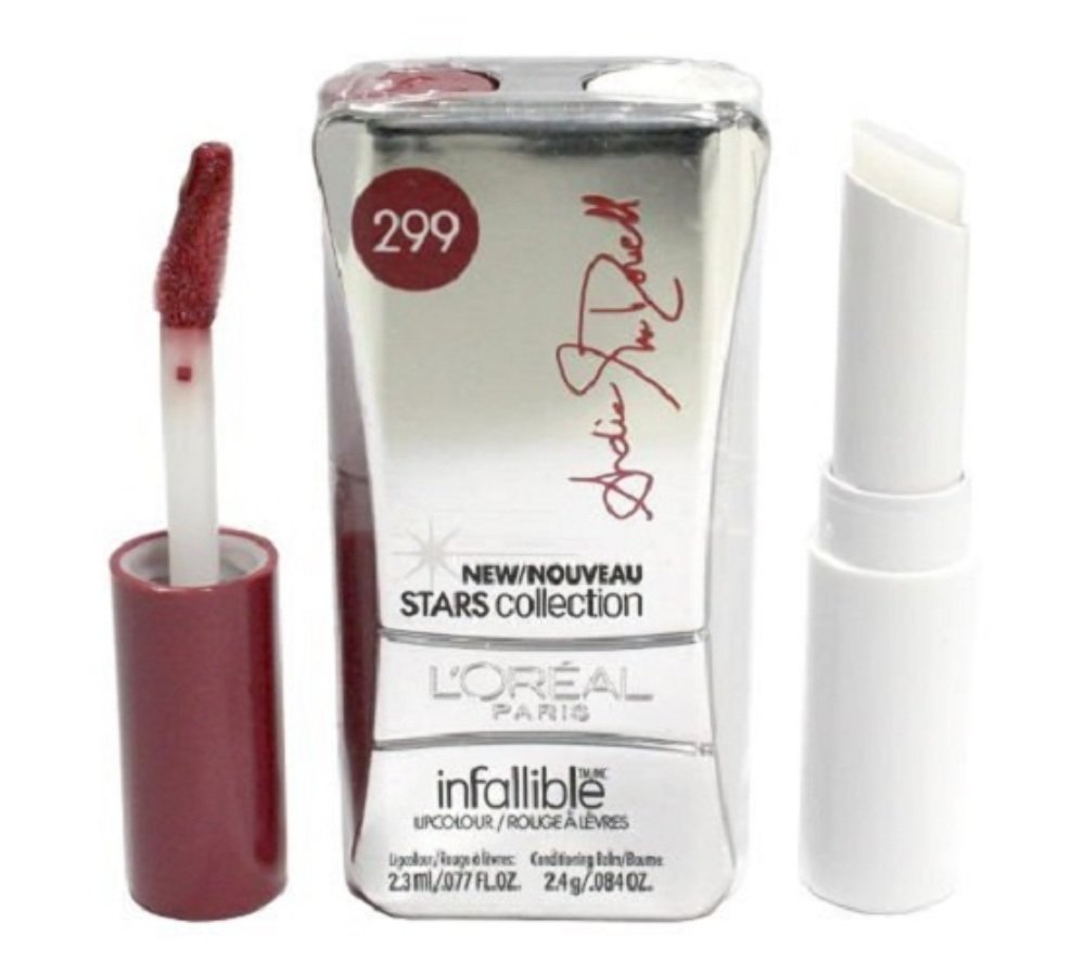 B003A8GETA L'Oreal Paris Infallible Never Fail Stars Collection Lipcolour, Andie's Rose 61o0-Ag7i1L