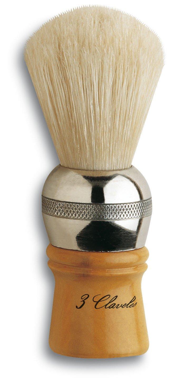 3 Claveles 12731 - Brocha de afeitar, cerda