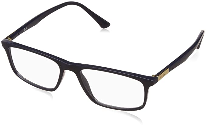 Ray-Ban Full Rim Shield Men\'s Spectacle Frame - (0RX7128II541953|53 ...