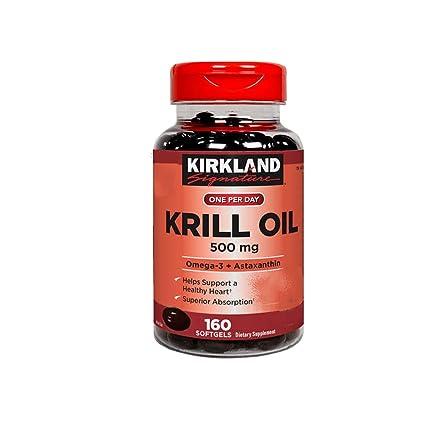 aceite de krill costco para que sirve
