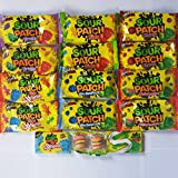 Sour Patch Variety Pack- Assortment Of Sour Patch Flavors Soft & Chewy Candy, Sour Patch Kids Gu, and More!