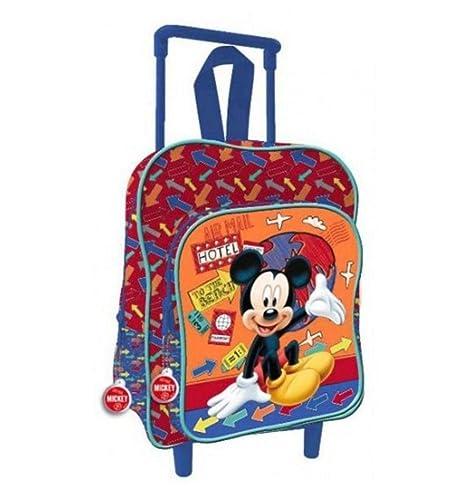 Mochila con Ruedas Guardería Mickey Mouse 2o17