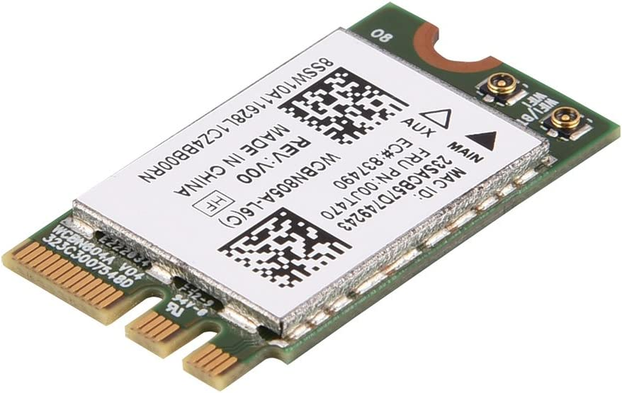 M2,Lenovo//Dell//ASUS//Toshiba//Hasee//Acer Carte WiFi bi-Bande,Compatibilit/é /étendue Carte NGFF M2 sans Fil WiFi Mini-Bande 433Mbps /à 433 Mbps pour Ordinateurs Portables avec Fente NGFF