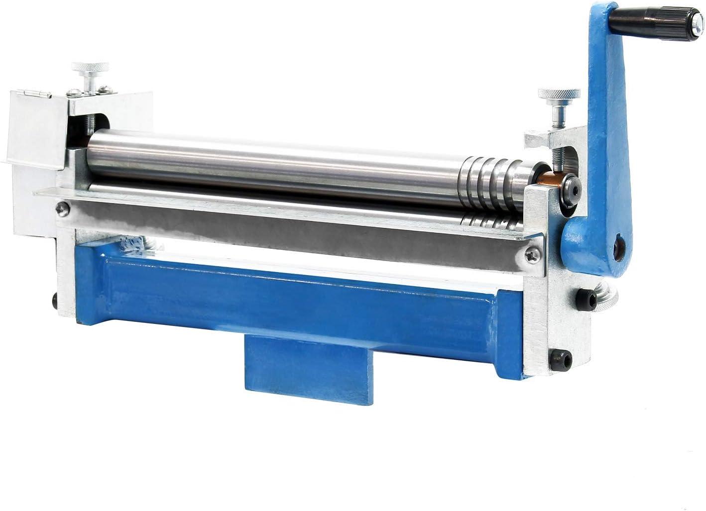 Drei-Walzen Rundbiegemaschine f/ür Werkst/ücke bis 250mm Biegemaschine Rundbiegeger/ät Blechbearbeitung